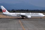 euro_r302さんが、鹿児島空港で撮影した日本航空 767-346の航空フォト(写真)