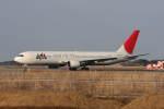 プルシアンブルーさんが、茨城空港で撮影した日本航空 767-346/ERの航空フォト(写真)