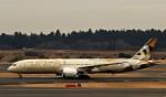 にしやんさんが、成田国際空港で撮影したエティハド航空 787-9の航空フォト(写真)