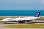 菊池 正人さんが、中部国際空港で撮影したフィンエアー A340-313Xの航空フォト(写真)