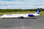 菊池 正人さんが、オスロ国際空港で撮影したフィンエアー MD-82 (DC-9-82)の航空フォト(写真)