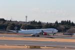 おっしーさんが、成田国際空港で撮影したスカンジナビア航空 A340-313Xの航空フォト(写真)