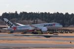 おっしーさんが、成田国際空港で撮影したジェットスター 787-8 Dreamlinerの航空フォト(写真)