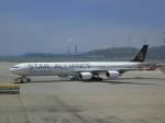 maverickさんが、香港国際空港で撮影した南アフリカ航空 A340-642の航空フォト(写真)