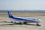 saoya_saodakeさんが、羽田空港で撮影した全日空 747-481(D)の航空フォト(写真)