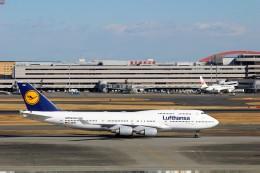 ハム太郎さんが、羽田空港で撮影したルフトハンザドイツ航空 747-430の航空フォト(写真)