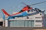IL-18さんが、東京ヘリポートで撮影した川崎市消防航空隊 AS365N3 Dauphin 2の航空フォト(写真)