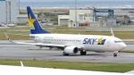 誘喜さんが、那覇空港で撮影したスカイマーク 737-81Dの航空フォト(写真)