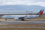 神宮寺ももさんが、関西国際空港で撮影したフィリピン航空 A330-343Xの航空フォト(写真)