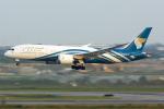 Mar Changさんが、スワンナプーム国際空港で撮影したオマーン航空 787-8 Dreamlinerの航空フォト(写真)