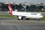 Koba UNITED®さんが、シンガポール・チャンギ国際空港で撮影したカンタス航空 A330-303の航空フォト(写真)