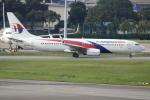 Koba UNITED®さんが、シンガポール・チャンギ国際空港で撮影したマレーシア航空 737-8H6の航空フォト(写真)