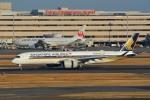 さくらの城南山。さんが、羽田空港で撮影したシンガポール航空 A350-941XWBの航空フォト(写真)