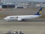 commet7575さんが、福岡空港で撮影したスカイマーク 737-8HXの航空フォト(写真)