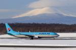noriphotoさんが、新千歳空港で撮影した大韓航空 737-9B5/ER の航空フォト(写真)