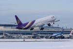noriphotoさんが、新千歳空港で撮影したタイ国際航空 777-3D7の航空フォト(写真)