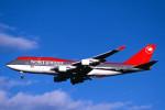 トロピカルさんが、成田国際空港で撮影したノースウエスト航空 747-451の航空フォト(写真)