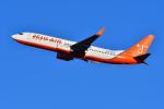 はるかのパパさんが、成田国際空港で撮影したチェジュ航空 737-83Nの航空フォト(写真)