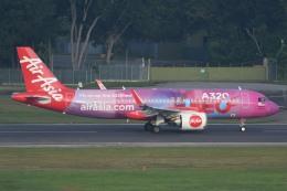 TAK10547さんが、シンガポール・チャンギ国際空港で撮影したエアアジア A320-251Nの航空フォト(写真)