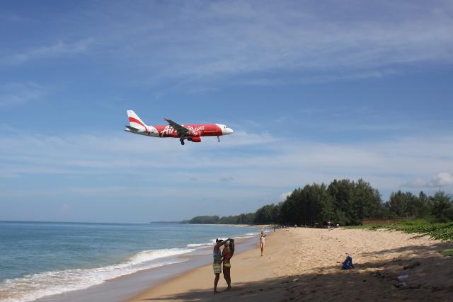 タイ・エアアジア Airbus A320-200 HS-ABU プーケット国際空港  航空フォト   by しかばねさん