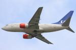 安芸あすかさんが、ロンドン・ヒースロー空港で撮影したスカンジナビア航空 737-683の航空フォト(写真)
