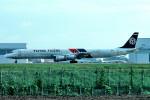 トロピカルさんが、成田国際空港で撮影したフライング・タイガー・ライン DC-8-73CFの航空フォト(写真)