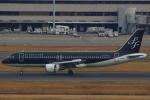 ハンバーグ師匠さんが、羽田空港で撮影したスターフライヤー A320-214の航空フォト(写真)