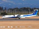 51ANさんが、鹿児島空港で撮影したANAウイングス DHC-8-402Q Dash 8の航空フォト(写真)