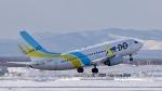 ぷかちさんが、新千歳空港で撮影したAIR DO 737-781の航空フォト(写真)