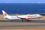 ストロベリーさんが、中部国際空港で撮影したマリンド・エア 737-9GP/ERの航空フォト(写真)