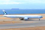 ストロベリーさんが、中部国際空港で撮影したキャセイパシフィック航空 777-367/ERの航空フォト(写真)