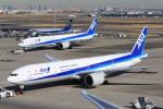 NH642さんが、羽田空港で撮影した全日空 777-381/ERの航空フォト(写真)