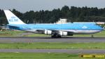 誘喜さんが、成田国際空港で撮影したKLMオランダ航空 747-406Mの航空フォト(写真)