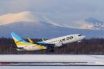 noriphotoさんが、新千歳空港で撮影したAIR DO 737-781の航空フォト(写真)
