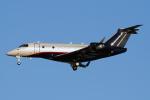 Echo-Kiloさんが、羽田空港で撮影したウェルズ・ファーゴ・バンク・ノースウェスト EMB-550 Legacy 500の航空フォト(写真)