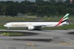 TAK10547さんが、シンガポール・チャンギ国際空港で撮影したエミレーツ航空 777-31H/ERの航空フォト(写真)