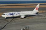 きんめいさんが、中部国際空港で撮影した日本航空 767-346/ERの航空フォト(写真)