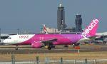 takatakaさんが、成田国際空港で撮影したピーチ A320-214の航空フォト(写真)