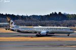 吉田高士さんが、成田国際空港で撮影したエティハド航空 787-9の航空フォト(写真)