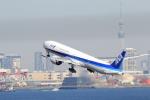 おっしーさんが、羽田空港で撮影した全日空 777-381/ERの航空フォト(写真)