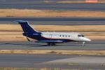 たまさんが、羽田空港で撮影したウェルズ・ファーゴ・バンク・ノースウェスト EMB-550 Legacy 500の航空フォト(写真)