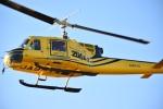 ぼんとらさんが、東京ヘリポートで撮影したアカギヘリコプター 204B-2(FujiBell)の航空フォト(写真)
