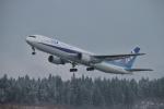 NH788さんが、秋田空港で撮影した全日空 767-381の航空フォト(写真)