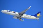 セブンさんが、新千歳空港で撮影したスカイマーク 737-81Dの航空フォト(写真)