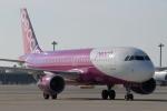 ハピネスさんが、関西国際空港で撮影したピーチ A320-214の航空フォト(写真)