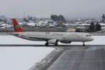 プルシアンブルーさんが、山形空港で撮影したトランスアジア航空 A321-131の航空フォト(写真)
