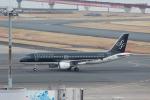 Rsaさんが、羽田空港で撮影したスターフライヤー A320-214の航空フォト(写真)