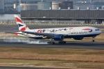 KAW-YGさんが、羽田空港で撮影したブリティッシュ・エアウェイズ 777-236/ERの航空フォト(写真)