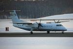 ペア ドゥさんが、新千歳空港で撮影した国土交通省 航空局 DHC-8-315Q Dash 8の航空フォト(写真)