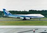NH642さんが、熊本空港で撮影した全日空 747-481(D)の航空フォト(写真)